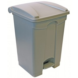 87ltr Polypropylene Pedal Bins - Available in Either Grey or Yellow