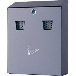 SSCB2 Steel Wall Mounted Ashtray Cigarette Disposal Bin