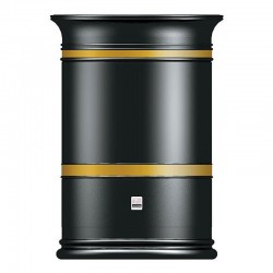 Heritage Open Top Outdoor Litter Bin