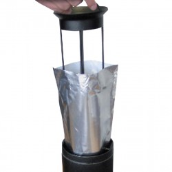 Replacement Prodifa Ashtray Aluminium Fireproof Bag