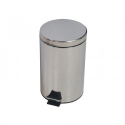 12ltr Stainless Steel Pedal Bin