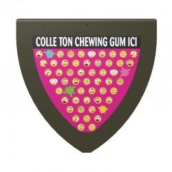 Gummy Wall Mounted Chewing Gum Bin