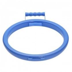 Blue Handy Hoop BIn Bag Holder