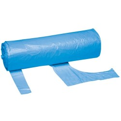 Blue Disposable Polythene Aprons on a Roll - 200 per Roll