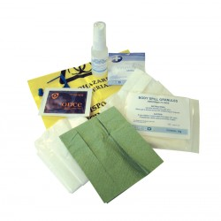Single Application Body Fluid Spill Kit