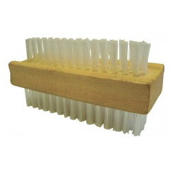 Double Sided Wooden Nail Brush