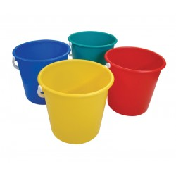 10Ltr Plastic Bucket - Colour Coded