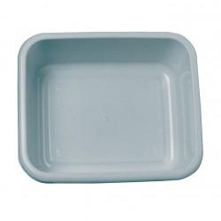 Grey Rectangular Plastic Washing Up Bowl