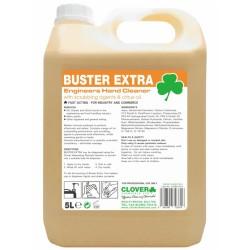 Clover Buster Extra Engineers Hand Cleaner with Scrubbing Agents & Citrus Oils (No Polybeads) 5Ltr