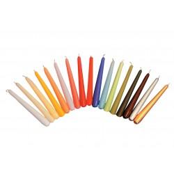 """25cm (10"""") Non-Drip Wax Candles - Box of 100"""
