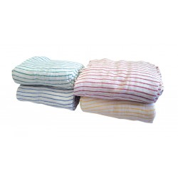 "40x30cm (16x12"") Striped Cotton Dishcloths - Pack of 20"