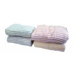 "40x30cm (16x12"") Striped Cotton Dishcloths - Pack of 20"