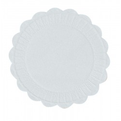 White Waxed Back Drink Coasters - Box of 1000