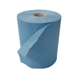 Blue 150m 1Ply 20cm Rollamatic Roll - 6 Rolls per Case