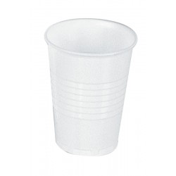 7oz Tall White Plastic Vending Cups - Case of 2000