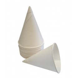 4oz Waxed Paper Cone Cups - Case of 5000