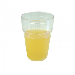 10oz Clear Plastic Roller Tumblers - Case of 100