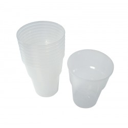 1 Pint Plastic Beer Glasses - Case of 500