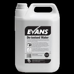 Evans Vanodine De-Ionised Water 5ltr