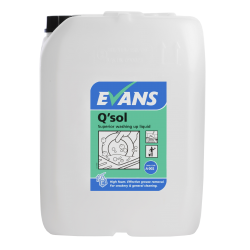 Evans Vanodine Q'Sol Superior Washing Up Liquid 20ltr