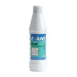 Evans Vanodine Q'Sol Superior Washing Up Liquid 1Ltr