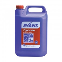 Evans Vanodine Cyclone Extra Thick Bleach 5Ltr