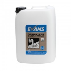 Evans Vanodine Drain Clear Enzyme Maintainer 10ltr