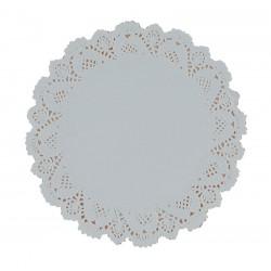 """16.5cm (6.5"""") Round Lace Paper Doilies - 2000 per Case"""