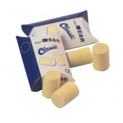 E.A.R. Classic Disposable Foam Ear Plugs - 250 Pairs per Case