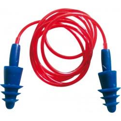 Delta Plus CONICFIT06 Corded Reusable Earplugs - Pack of 6