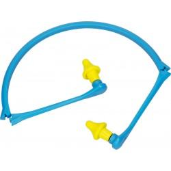 Delta Plus CONICAP01 Folding Reusable Ear Plugs With Headband