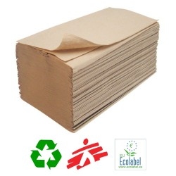 Eco-Strong Recycled Cardboard Interleaved Paper Hand Towels - Case of 5000