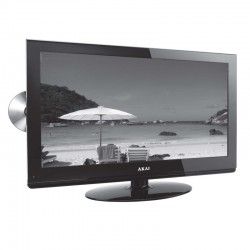 "Akai 24"" LCD Television with Built in DVD and Freeview HD Ready"