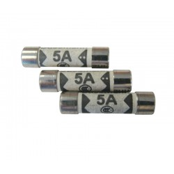 5 Amp Plug Top Fuses - Pack of 10