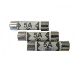 5 Amp Plug Top Fuses - Pack of 10
