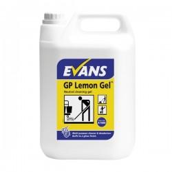 Evans Vanodine gp Lemon Floor Gel 5ltr