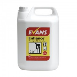 Evans Vanodine Enhance Ultra High Solids Wet Look Floor Polish 5ltr