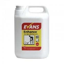 Evans Vanodine Enhance Ultra High Solids Wet Look Floor Polish 5ltr