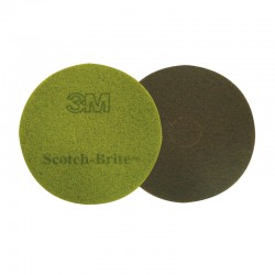 """380mm (15"""") 3M Diamond Floor Pad - Case of 5 - Available in Purple and Sienna"""