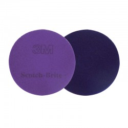 "430mm (17"") 3M Diamond Floor Pad - Case of 5 - Available in Purple and Sienna"
