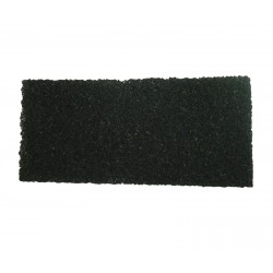 Black Heavy Duty Floor Edge Stripping Pads