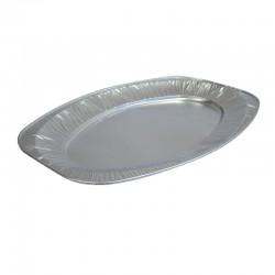 Oval Foil Medium Platters - 10 per Pack