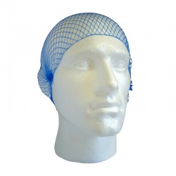 Metal Detectable Disposable Hairnets - Pack of 100