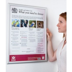 HSE A2 Size Health and Safety Law Poster