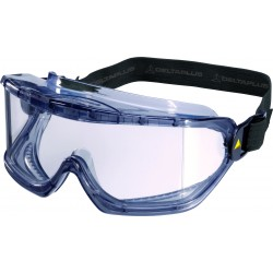 Delta Plus Grey PVC Polycarbonate Safety Goggles