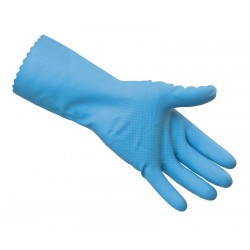 Standard Household Rubber Gloves - Available in Blue, Pink or Yellow