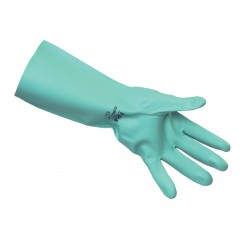 Heavy Duty Green Nitrile Gloves