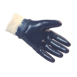 Heavy Duty Nitrile Coated Knitwrist Gloves