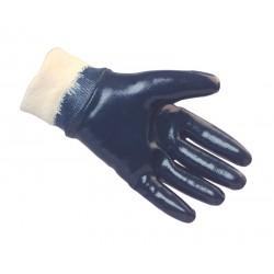Heavy Duty Nitrile Coated Knitwrist Gloves