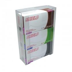 Triple Clear PVC Disposable Glove Box Dispenser